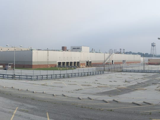 The former Fisker Automotive plant on Boxwood Road