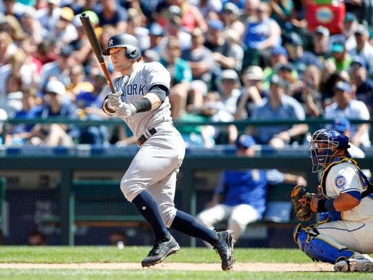 Rookie Clint Frazier has grown at a rapid pace since
