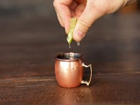 Magically Mini Moscow Mules