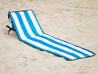 Beach Mat & Chair Combo Lounger