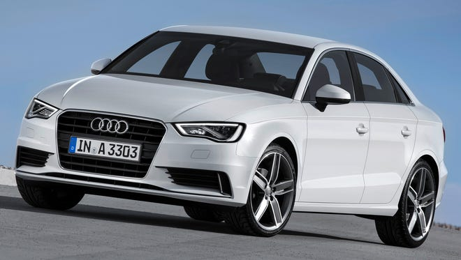 The 2015 Audi A3.