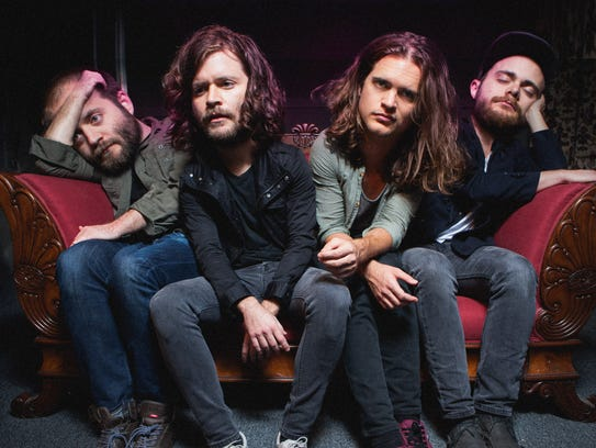 "Kongos as seen in the video for ""Take it From Me."""