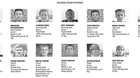 All city/county second team offense