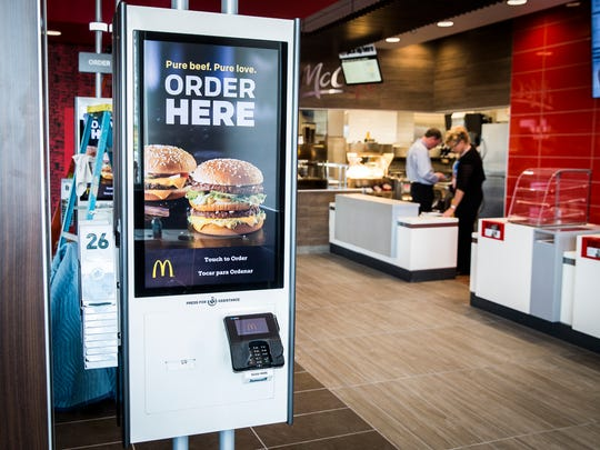 After nearly 90 days of renovation, the McDonald's