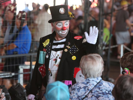 Clowns, elephants and thrilling aerialists are among
