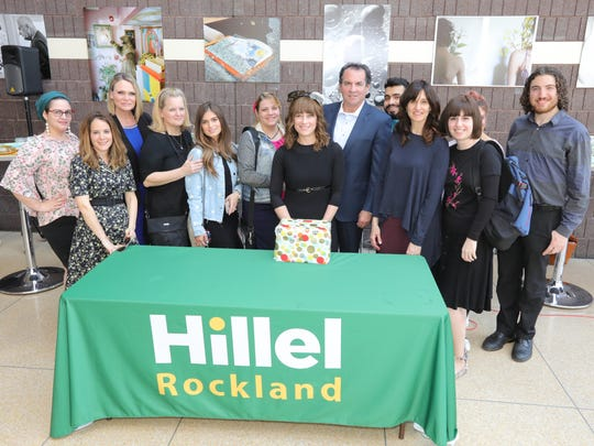 Judges and contestants of a challah and dip bake-off at Rockland Community College in Suffern on Tuesday, April 24, 2018.