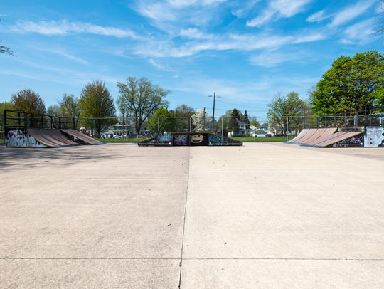 The city already has a skate park at Optimist Park,