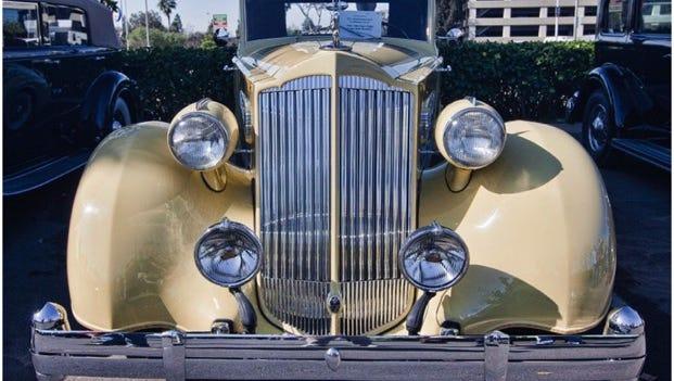 1936 Packard Super Eight Roadster model 1404