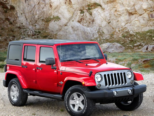 2014 Jeep Wrangler Unlimited front right