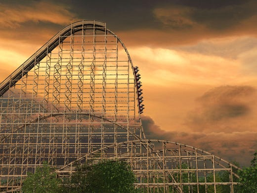 Top five new roller coasters for 2014