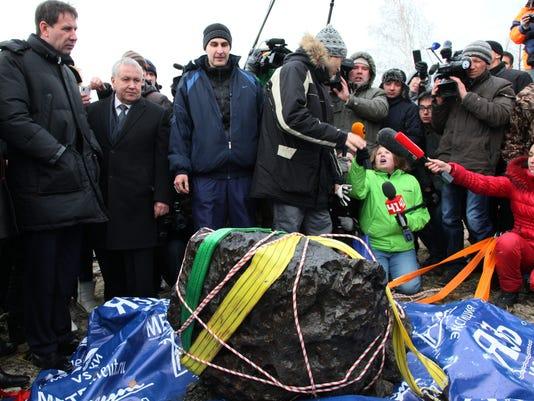 AP Russia Meteor
