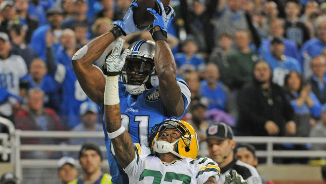 The Packers won't have to face Calvin Johnson and his big-play ability this season against the Lions.