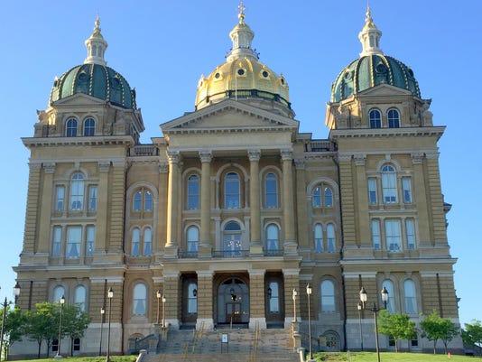 Iowa Capitol, North view