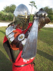 Anthony DeRivi is a knight and past emperor of the Adrian Empire -- Constantinople. He travels the state to attend Renaissance fairs.