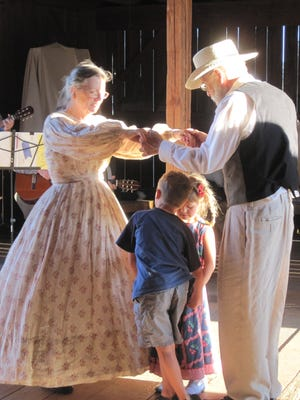 The Champoeg Barn Dance takes place July 8.