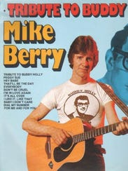 Mike Berry album cover, 'A Tribute to Buddy Holly.'