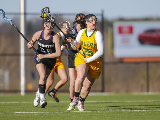 Susquehannock graduate Ashley Valway has 41 goals and 15 assists as a freshman for the Marywood women's lacrosse team.