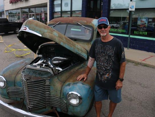 St.  Clair Shores resident Jim Ciesliga has his 1949