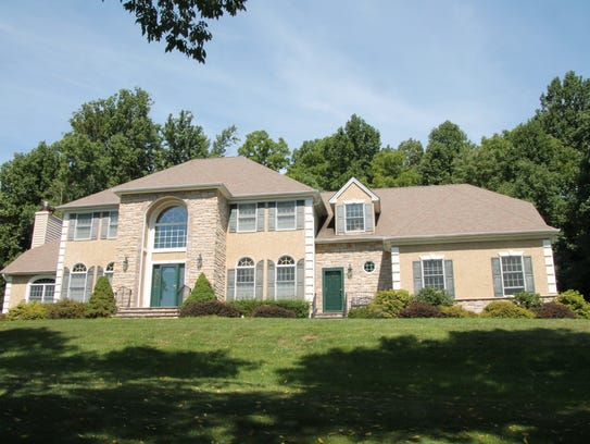 This four-bedroom home in Holland Township has 11 rooms,