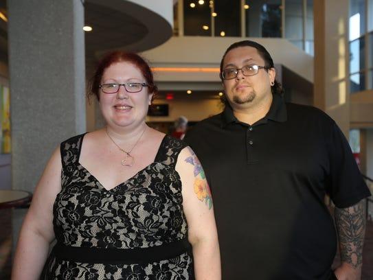 Kristi Spurlock and Shawn Turner