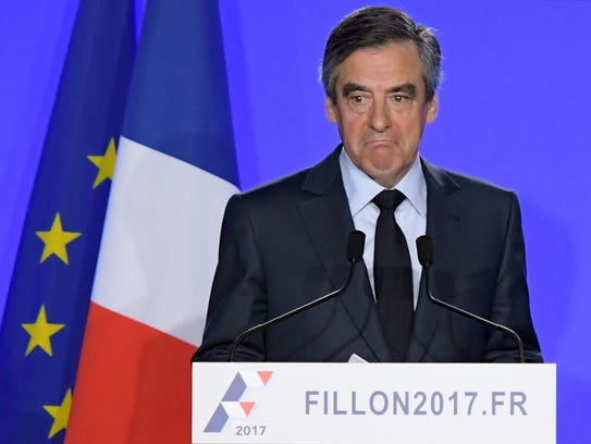 French presidential election candidate for the right-wing