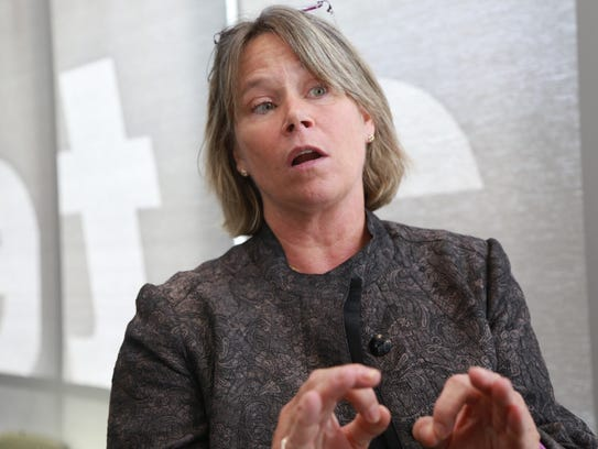 Chief Medical Executive Eden Wells is charged with
