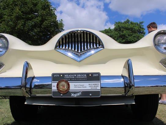 This 1954 Kaiser Darrin was a blue ribbon award winner