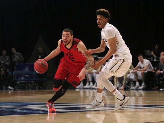 SUU beat Idaho, 92-78, in the Big Sky quarterfinals.