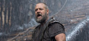 """The controversial """"Noah,"""" starring Russell Crowe, was No. 1 at the box office."""