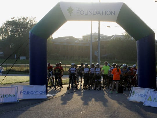 Approximately 56 cyclists came out Saturday morning for the second annual Scenic Century Ride, which benefits the West Tennessee Healthcare Foundation.