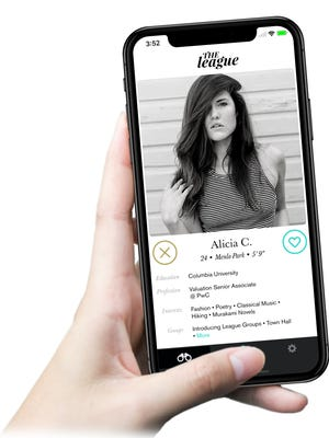 The League is a dating app that will launch in metro Phoenix Nov. 6.
