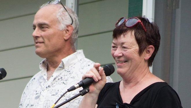 Bruce and Denise Freestone