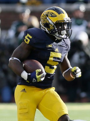 Michigan safety Jabrill Peppers.