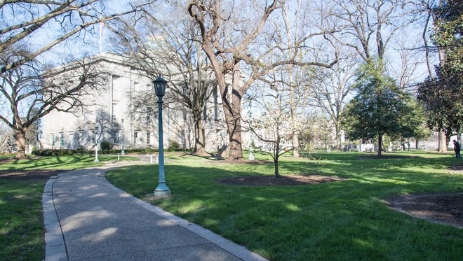 An African-American monument is to be located in this area near the southeast corner of the state Capitol grounds in Raleigh.