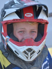 Logan Lockwood is on his way to national motocross competition.
