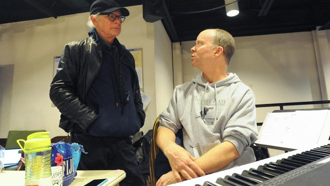"Barry Levinson, the director of ""diner"", works on his musical at the Delaware Theatre Company in Wilmington."