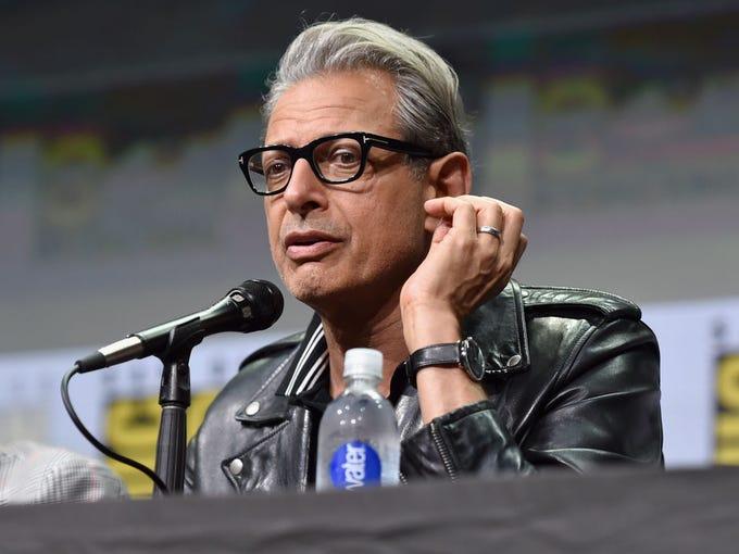 Actor Jeff Goldblum from Marvel Studios' 'Thor: Ragnarok'