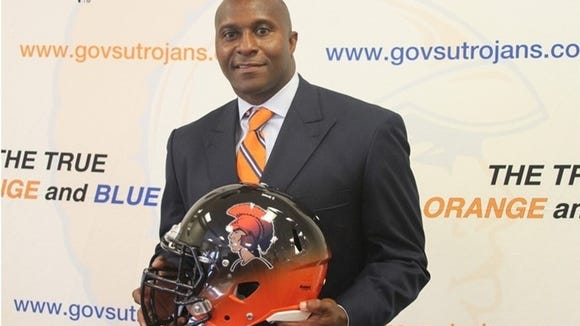 Reggie Barlow was named head coach at Virginia State.