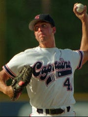 Andy Heckman during his playing days with the Shreveport