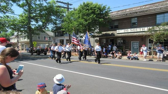 The Memorial Day Parade in Medford held last year.