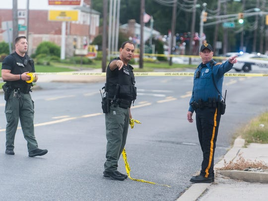Police responded to a call for a suspicious package
