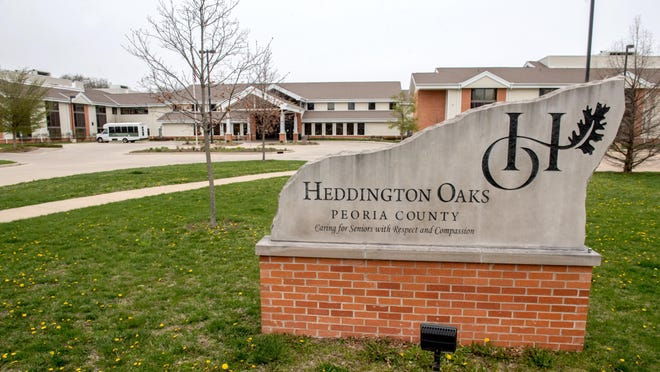 The former Heddington Oaks is at 2223 W. Heading Ave. in West Peoria.