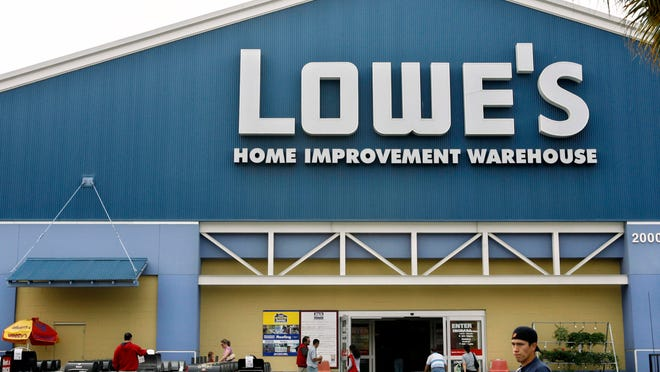 A Lowe's store in Burbank, Calif. The home improvement retailer and its contractors have been cited by the federal EPA for shortcomings with lead protection during home renovations.