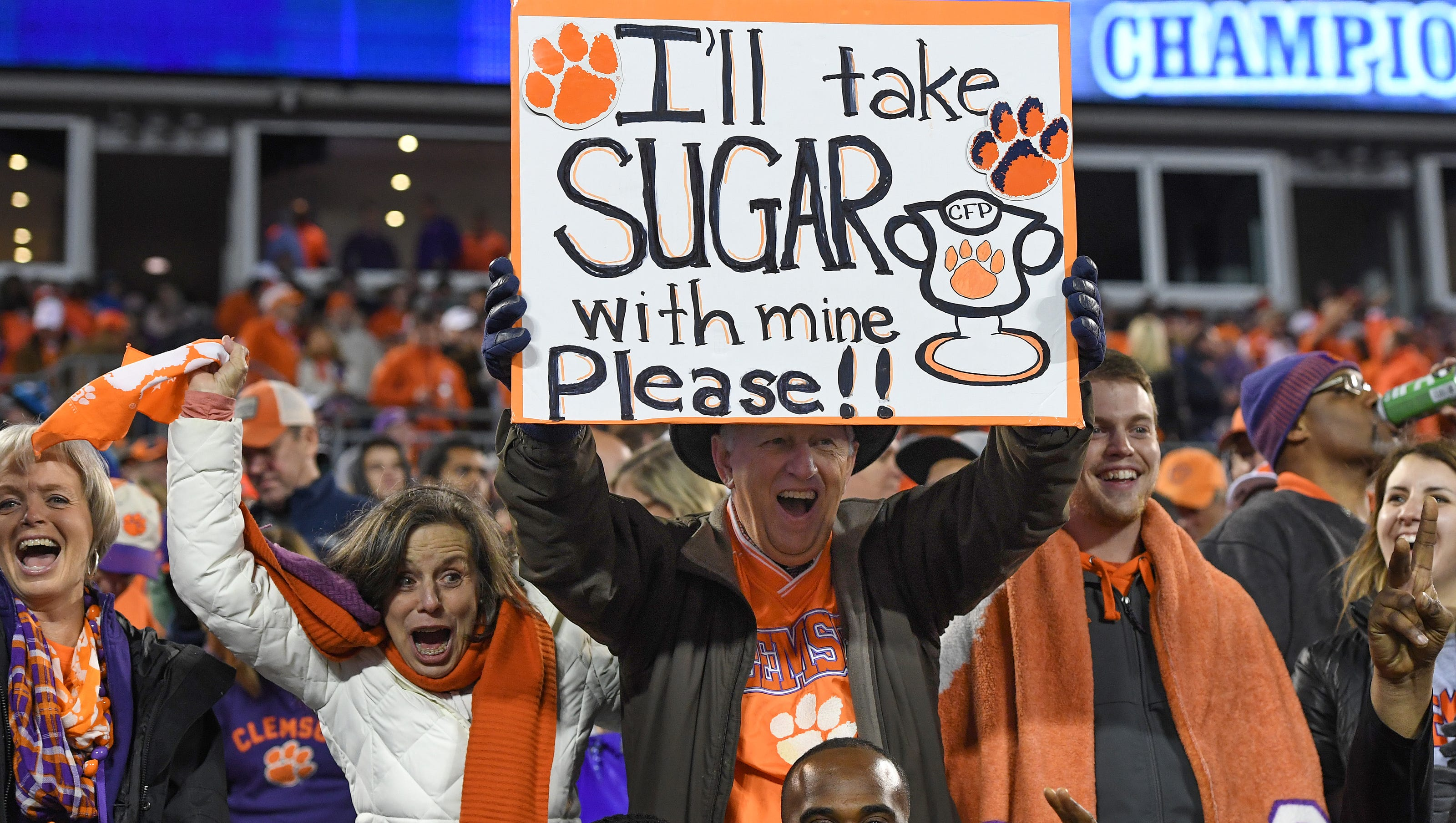 Clemson And Carolina Score >> Clemson students get second chance at Sugar Bowl against Alabama