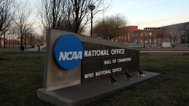 The NCAA national office and Hall of Champions in Indianapolis.