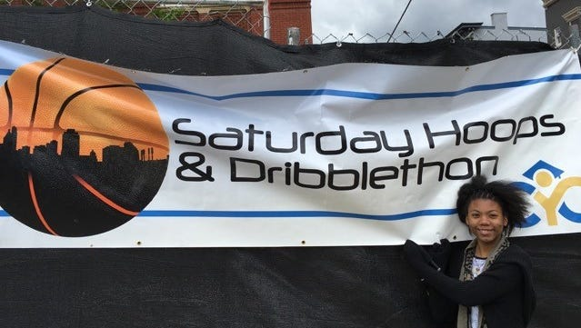 Saturday Hoops and the Cincinnati Youth Collaborative come together to hold the Dribblethon every year.