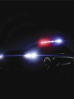 .Police lights