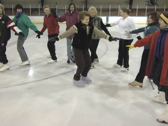 The Skating With Charlotte Ice Skating Class at the