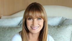 Jane Seymour pictured at her home in Malibu.