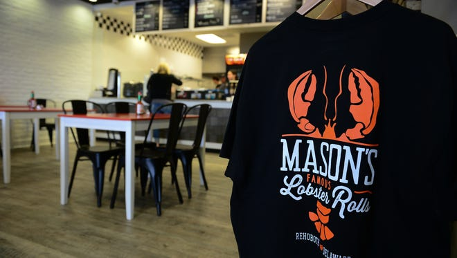 Mason's Famous Lobster Rolls has opened in Rehoboth Beach. Monday, March 21, 2017.